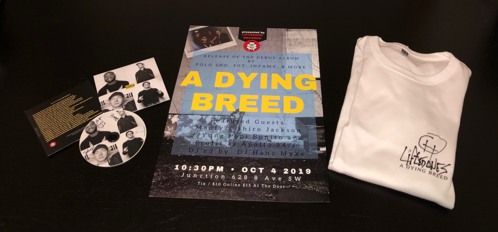 Thumbnail of: A DYING BREED ALBUM PACKAGE!