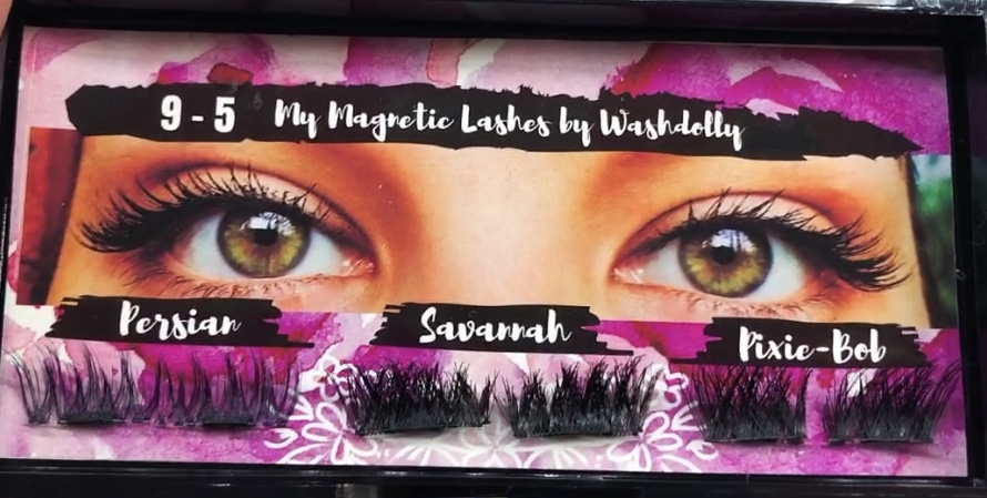 Thumbnail of: TRAVEL SIZE WASHDOLLY & MY MAGNETIC LASHES 9-5