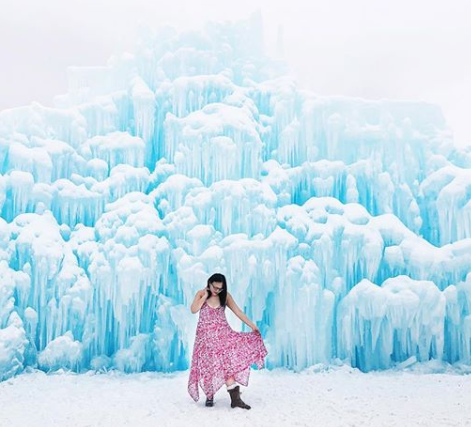 Thumbnail of: Ice Castles and Silver Skate Instagrammable Walk with @lindork | February 15, 2020