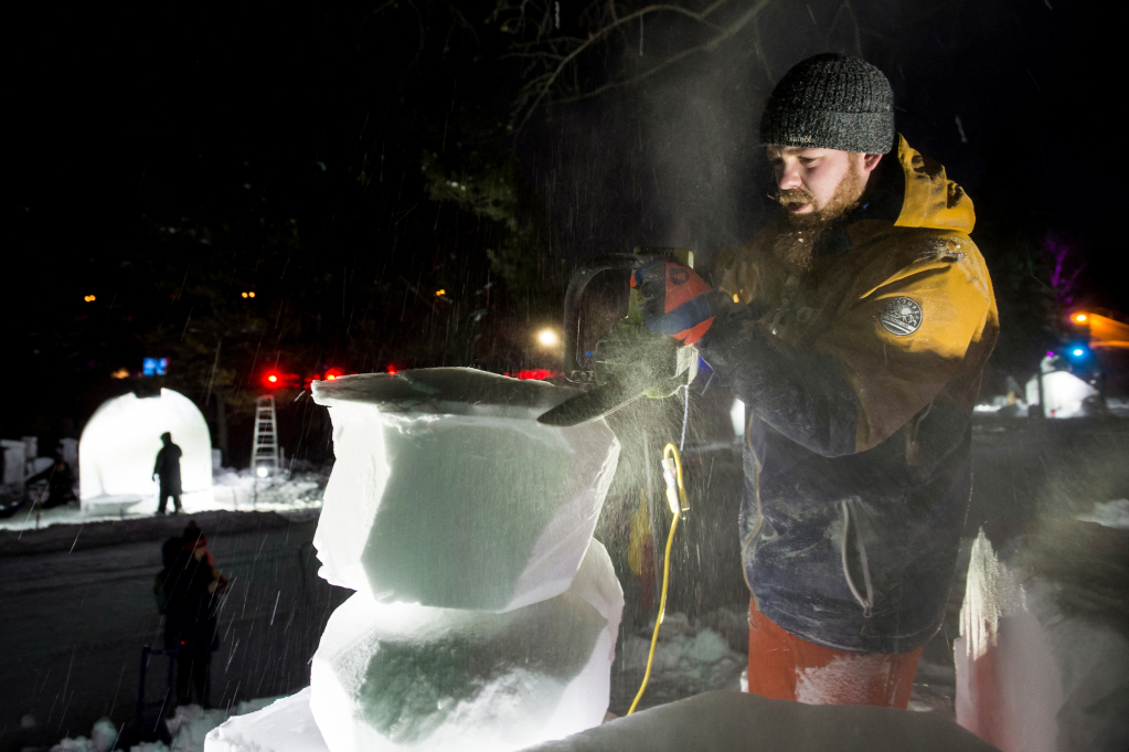 Thumbnail of: Learn to Snow Carve at Silver Skate Festival