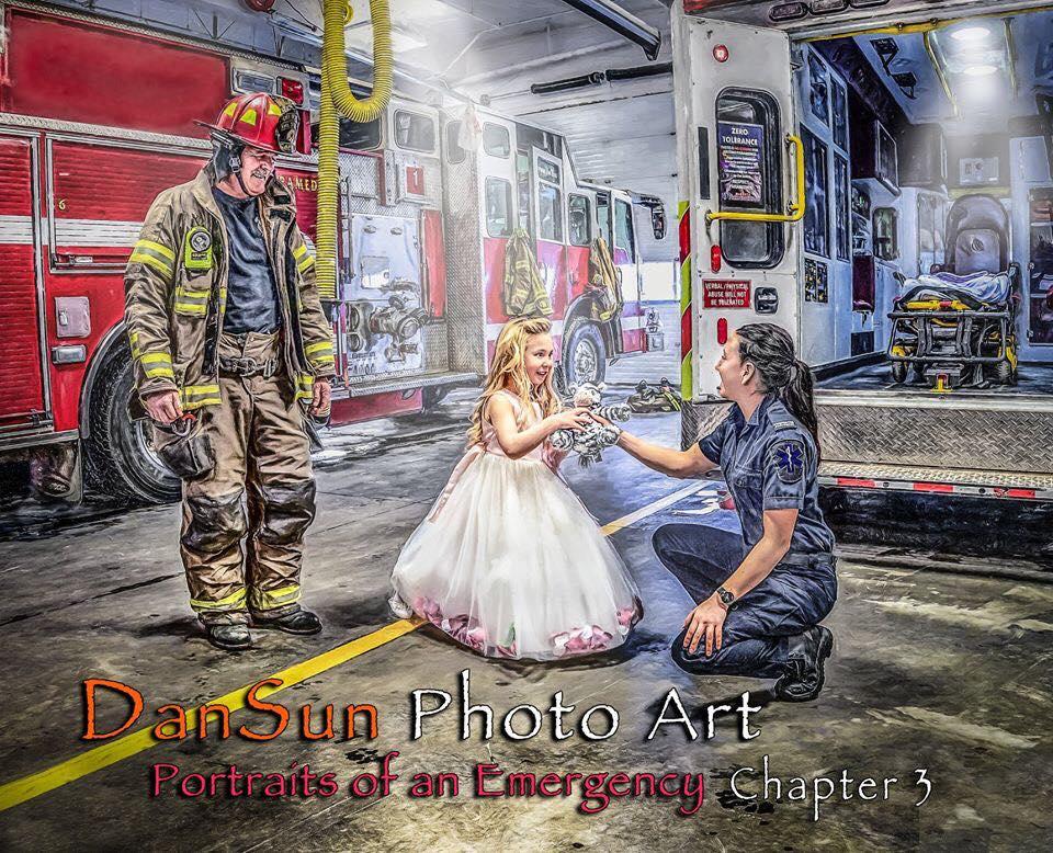 Thumbnail of: 8x12 Emergency Services Artwork and Photographs by DanSun Photo Art.