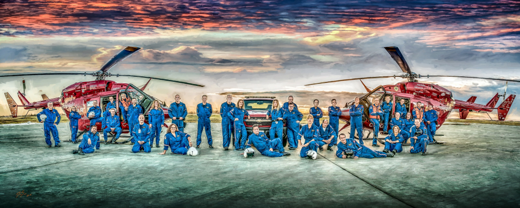 Thumbnail of: 20x30 Emergency Services Artwork and Photographs by DanSun Photo Art.