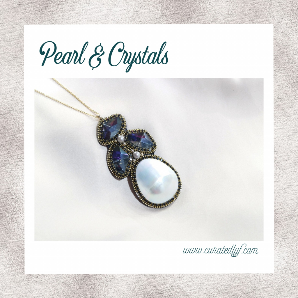 Thumbnail of: BJ Chavez Mother of Pearl Necklace