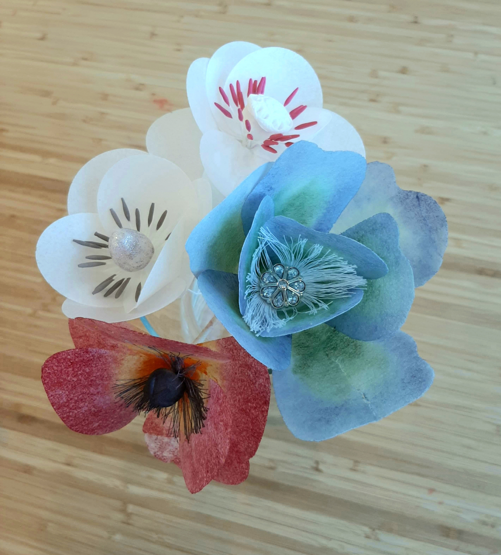 Thumbnail of: Wafer Paper Flowers Class Feb.12