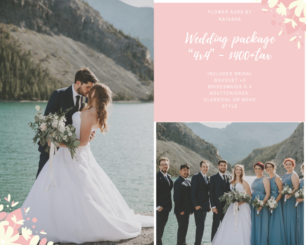 Thumbnail of: Wedding package 4X4 at $400 - regular value is $500