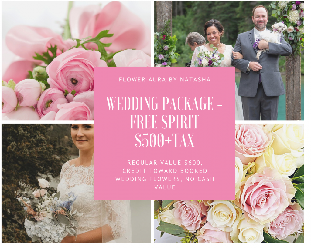 Thumbnail of: Wedding package - Free Spirit ( Your colors, your style, your scope) - $500 value of $600