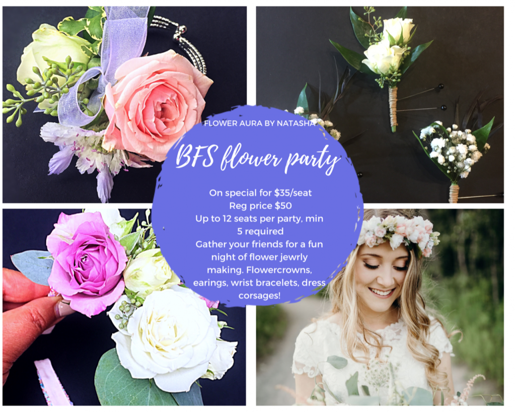 Thumbnail of: BFS flower party