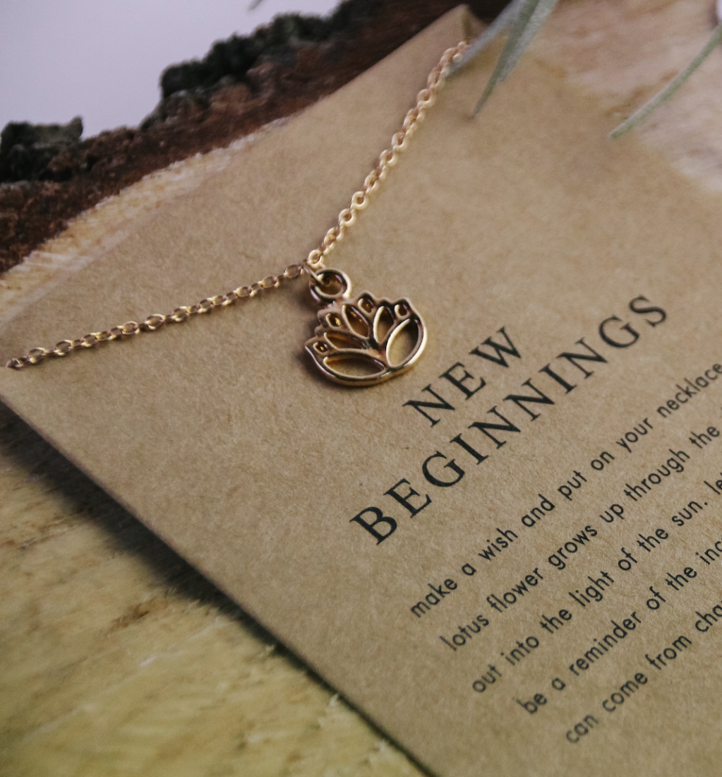Thumbnail of: New Beginnings Necklace + Guided Meditation Pack