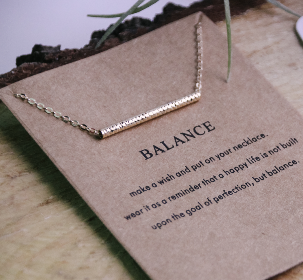 Thumbnail of: Balance Necklace + Guided Meditation Pack