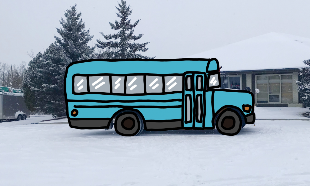 Thumbnail of: Advertise your business with a decal on the back of The Whale bus for 5 years.