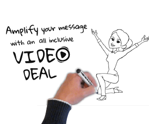 Thumbnail of: 30-second Doodle Video with (2) 15-second clips
