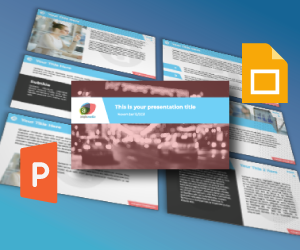 Thumbnail of: Branded PowerPoint template