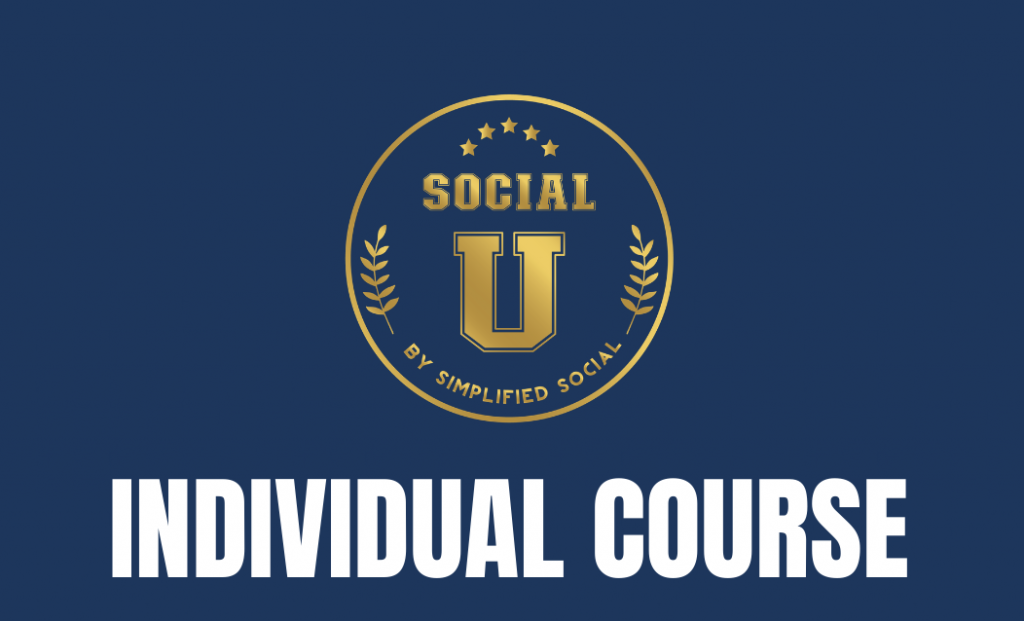 Thumbnail of: Individual SocialU Course *PRE-SALE PROMOTION*