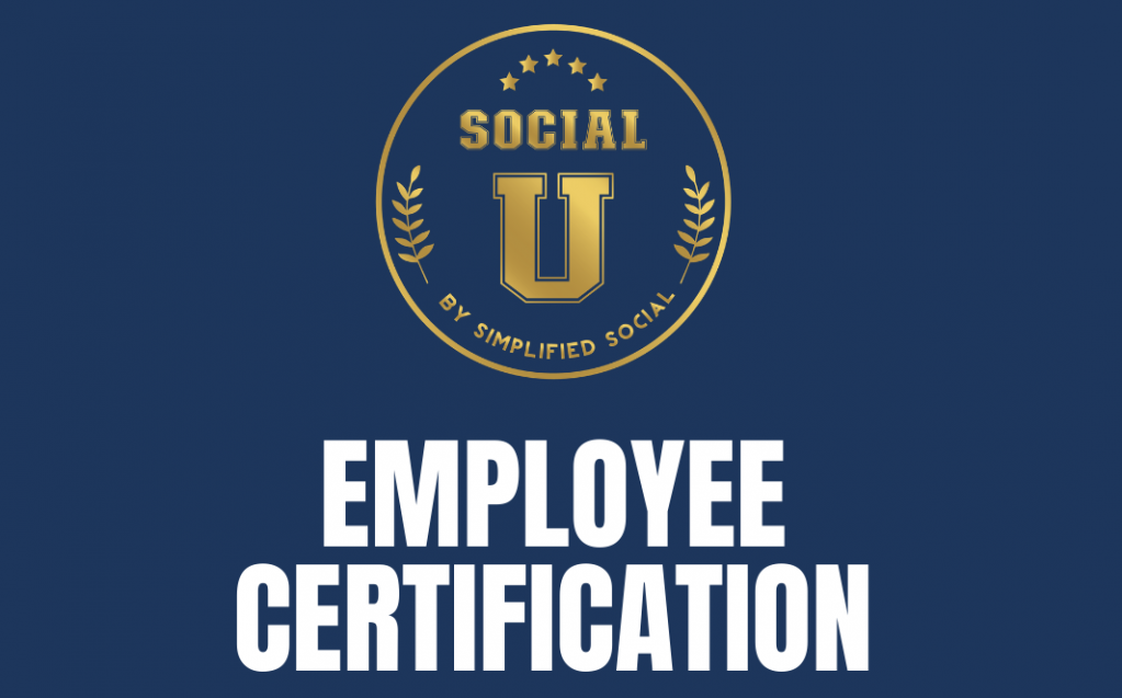 Thumbnail of: SocialU Certification: Employee *PRE-SALE PROMOTION*