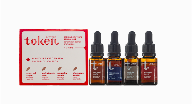 Thumbnail of: Token Bitters Flavours of Canada Sampler Set