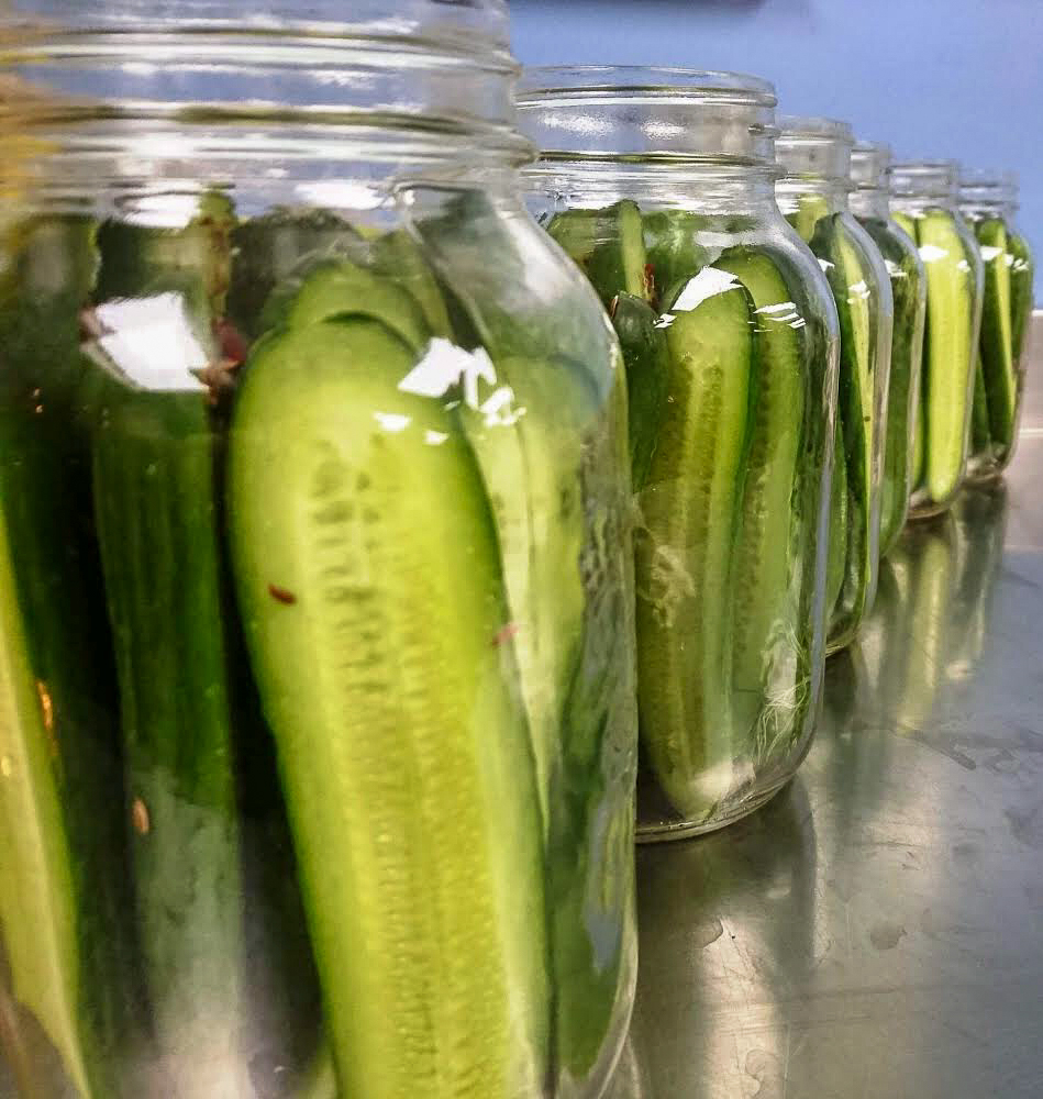 Thumbnail of: Full size jar of our Housemade Pickles & Preserves