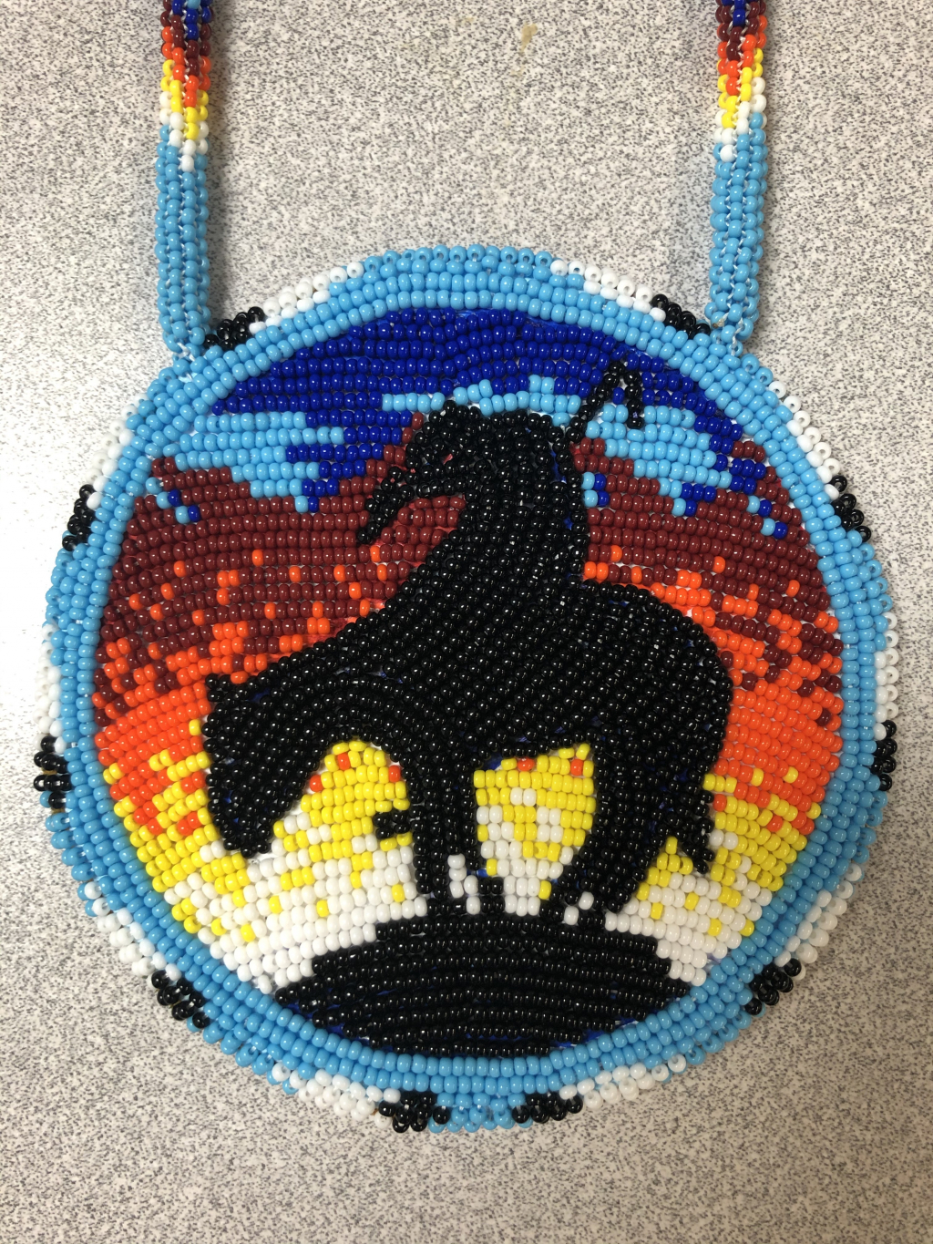 Thumbnail of: The End of the Trail medallion