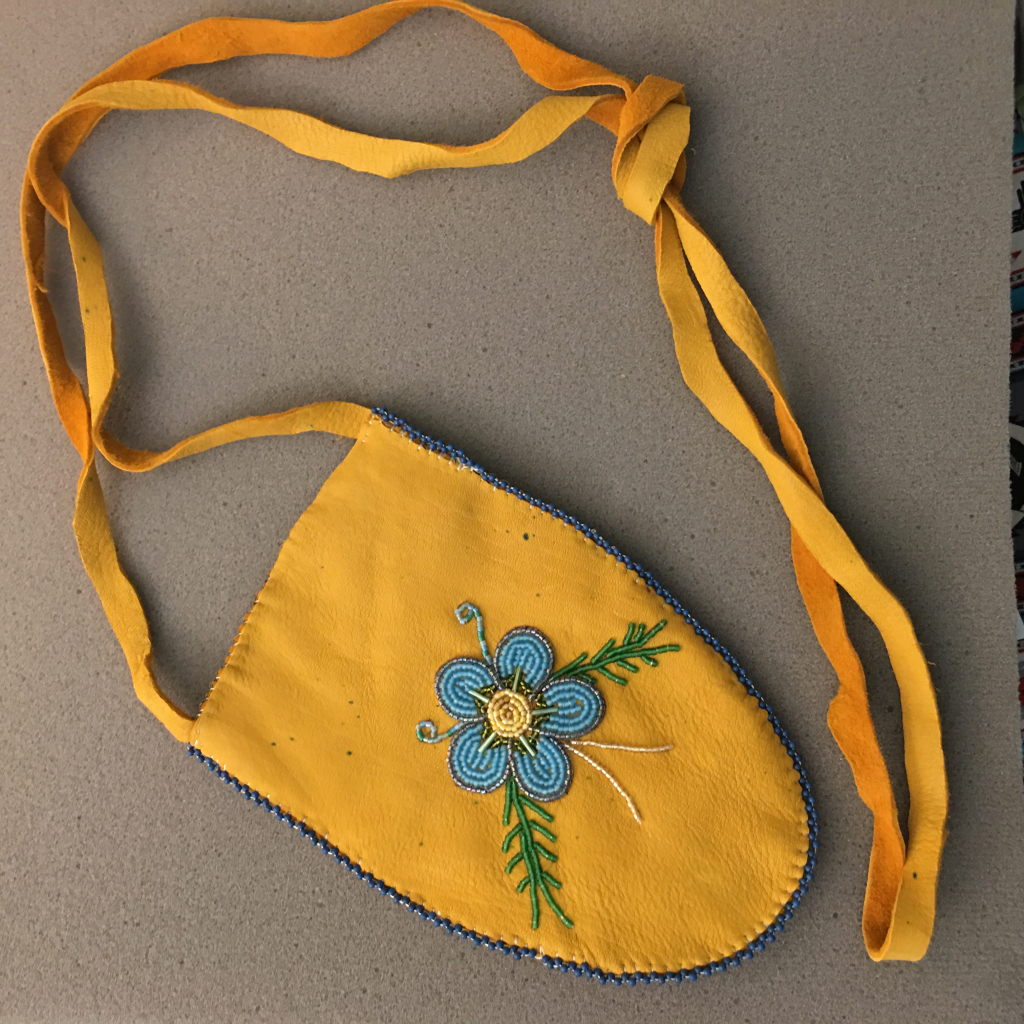 Thumbnail of: Leather Carrying Pouch