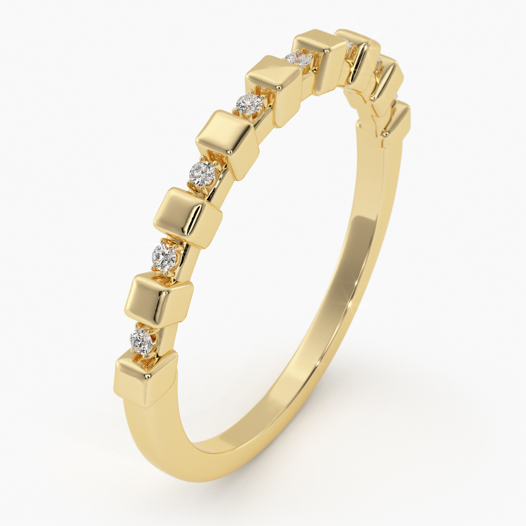 Thumbnail of: 14K GOLD AND DIAMOND RING