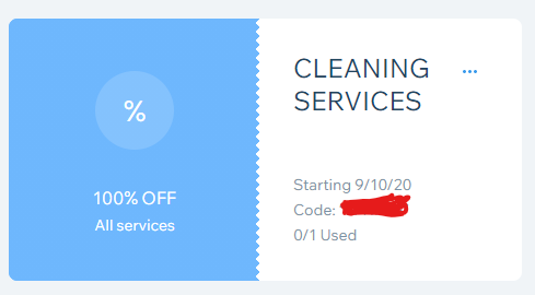 Thumbnail of: 1 FREE Cleaning