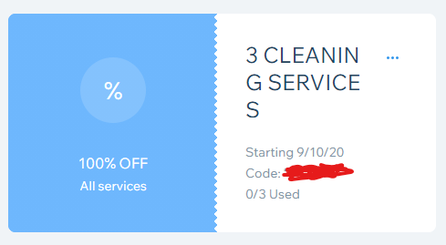Thumbnail of: 3 FREE Cleaning Services
