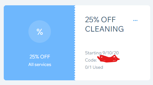 Thumbnail of: 25% Off- Cleaning