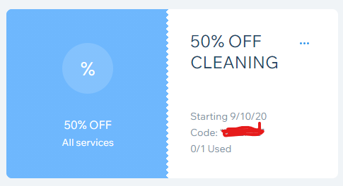 Thumbnail of: 50% Off- Cleaning