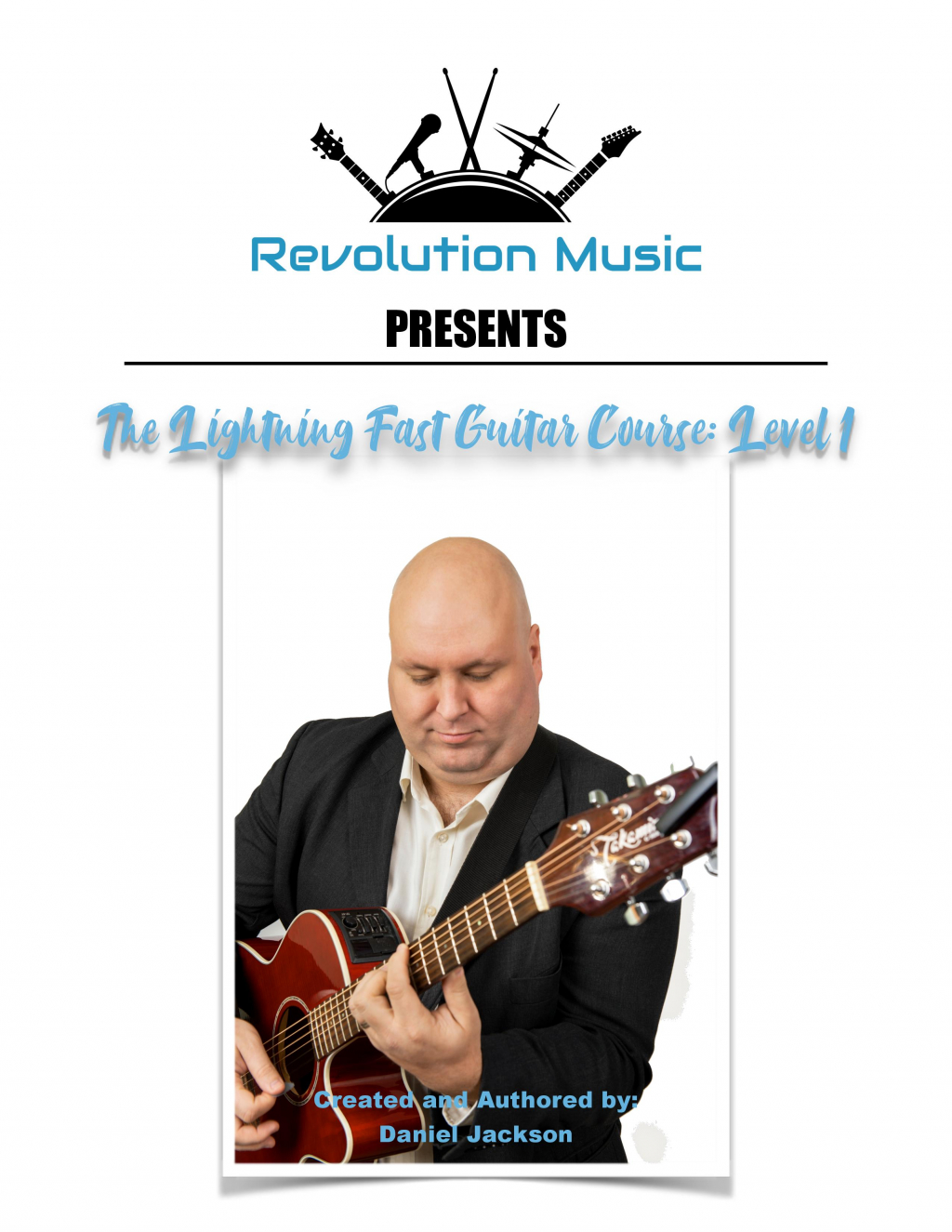 Thumbnail of: Guitar/Piano/Bass Book with 4 x 60 minute lessons