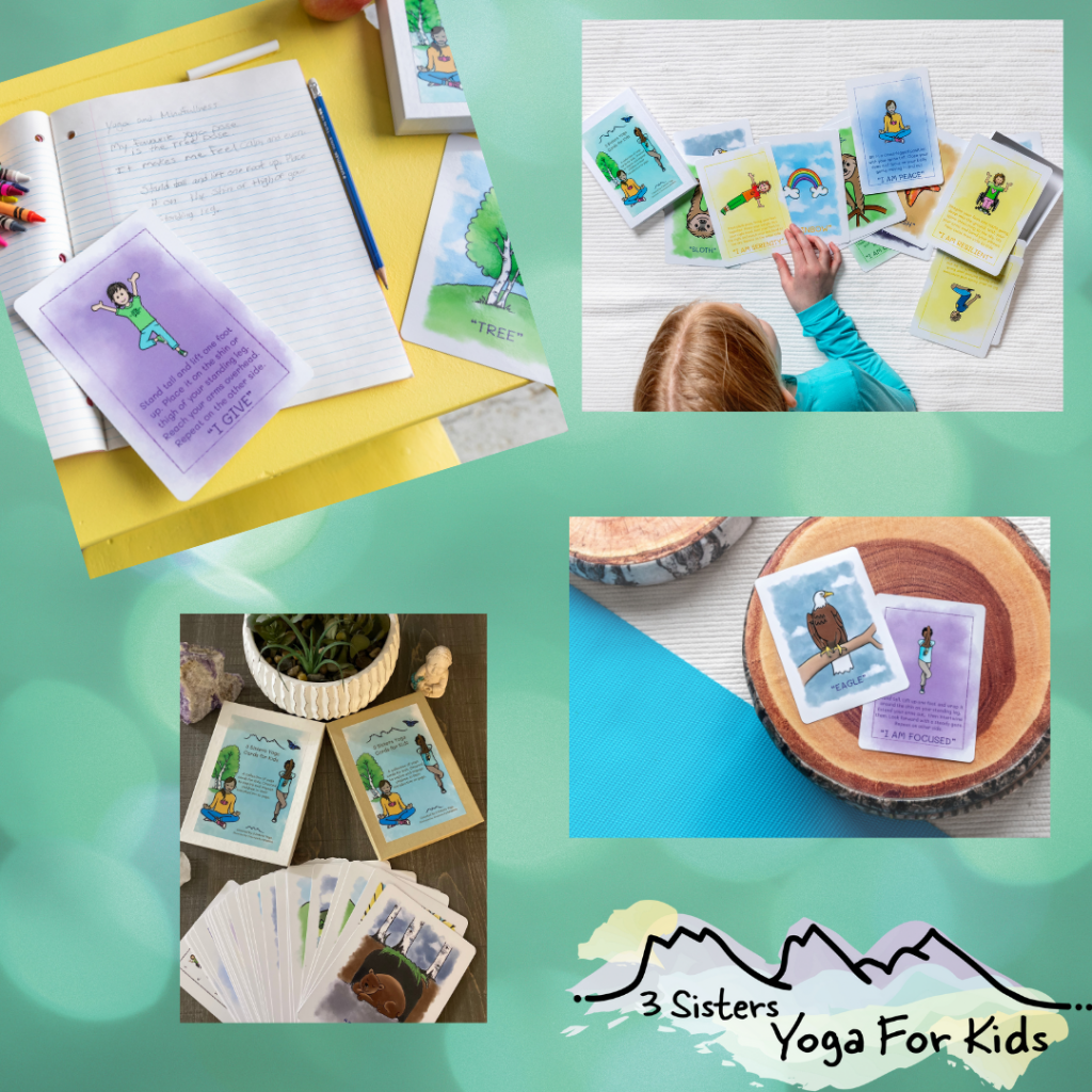 Thumbnail of: Yoga Pose and Affirmation Cards