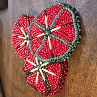 Thumbnail of: Beaded Flower Pin