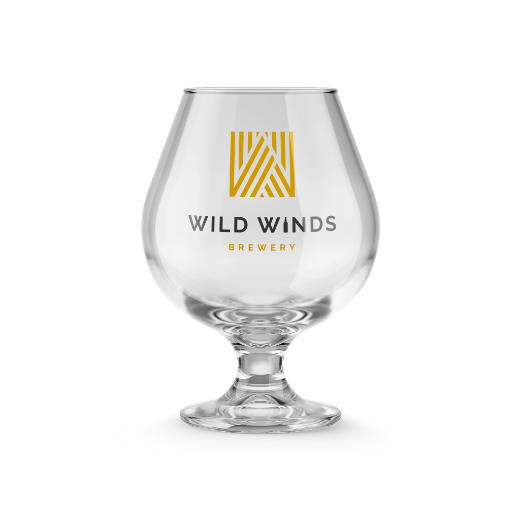 Thumbnail of: Wild Winds Beer Glass Plus A High Five