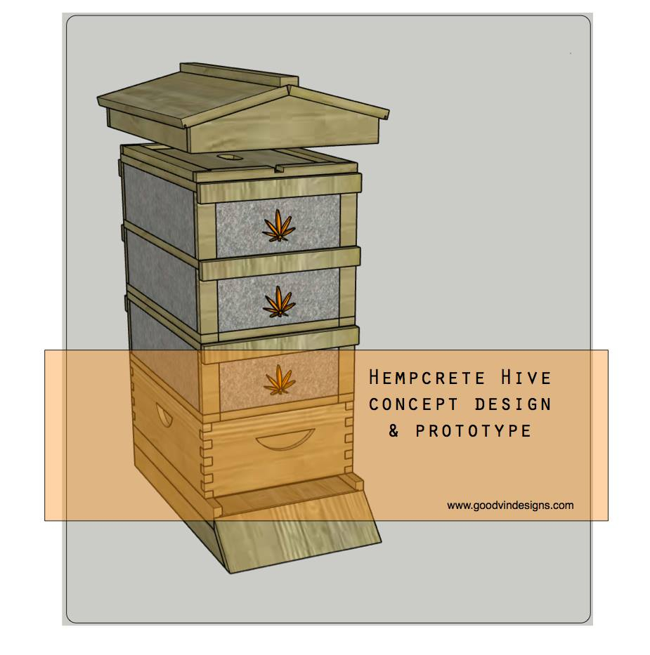 Thumbnail of: How to build a Hempcrete Medium Beehive Box