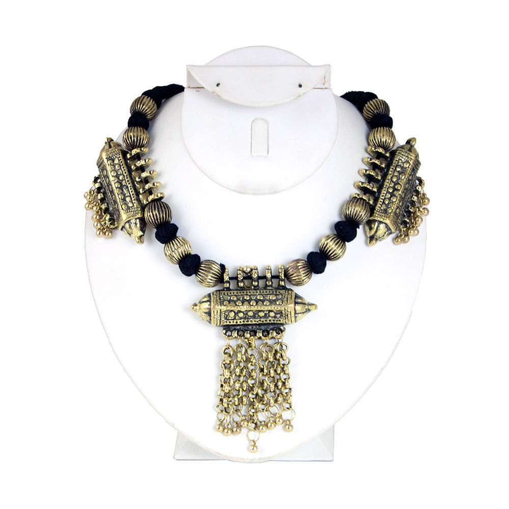 Thumbnail of: Brass Statement Piece Necklace