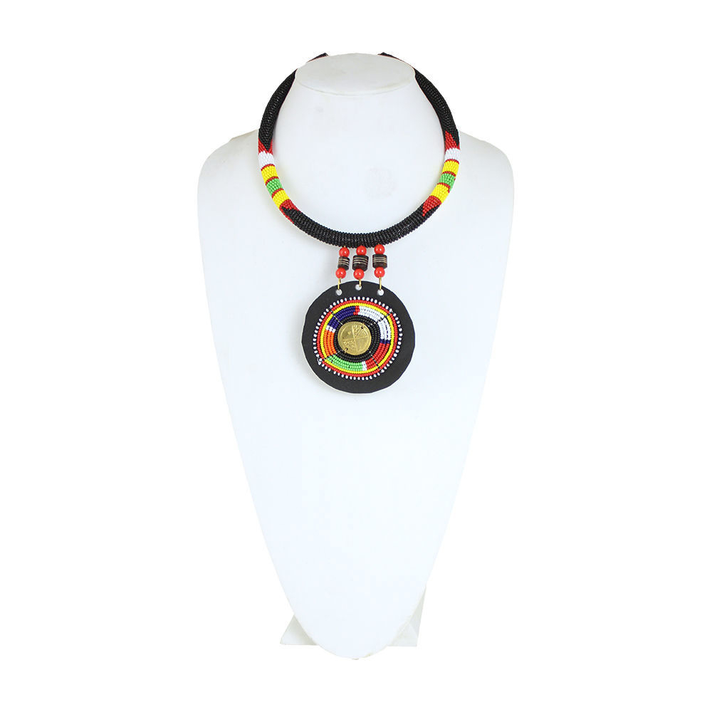 Thumbnail of: Maasai Beaded Necklace