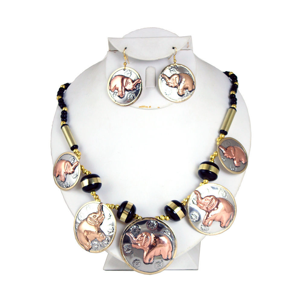 Thumbnail of: Elephant Necklace Set