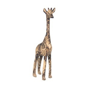 Thumbnail of: Fire Blackened Wooden Giraffe