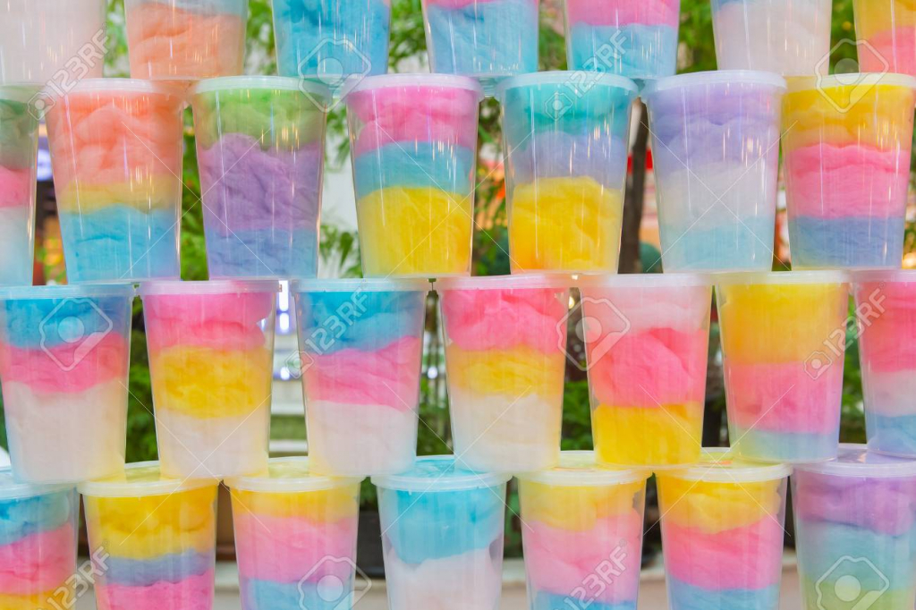 Thumbnail of: Cotton Candy Jars