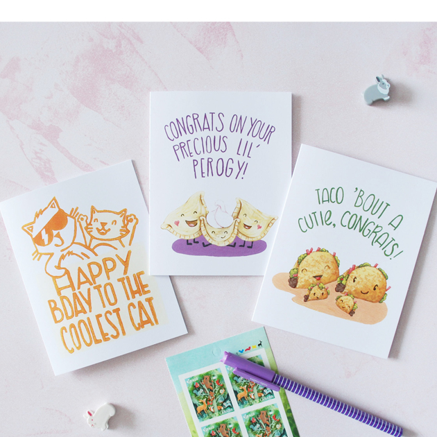 Thumbnail of: A YEAR of Greeting Cards!