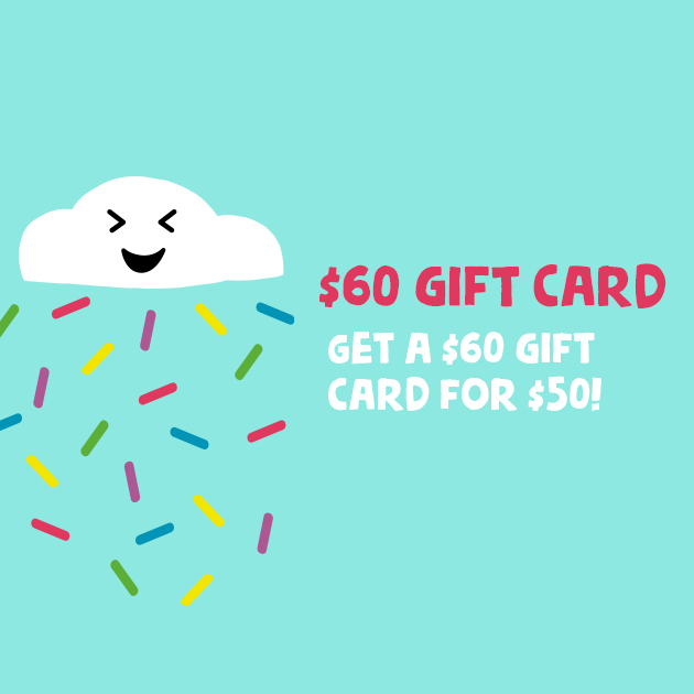 Thumbnail of: Gift Card! $60 card for only $50 (must pick up reward)