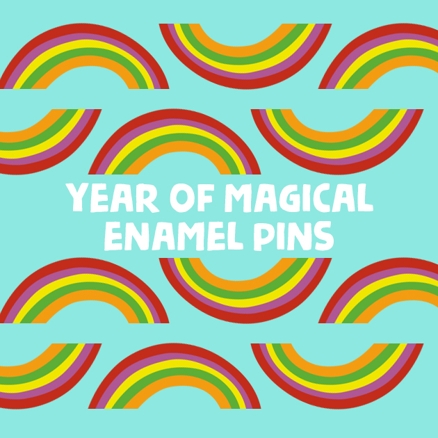 Thumbnail of: A YEAR of Magical Enamel Pins!