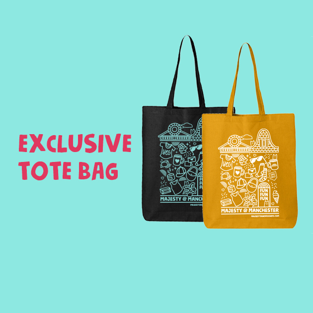 Thumbnail of: Exclusive Majesty Tote Bag (must pick up reward)
