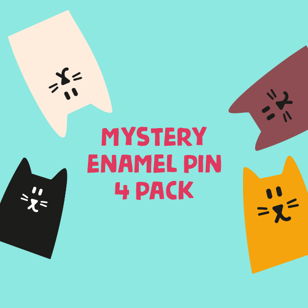 Thumbnail of: Majesty's Mystery Enamel Pin 4 Pack