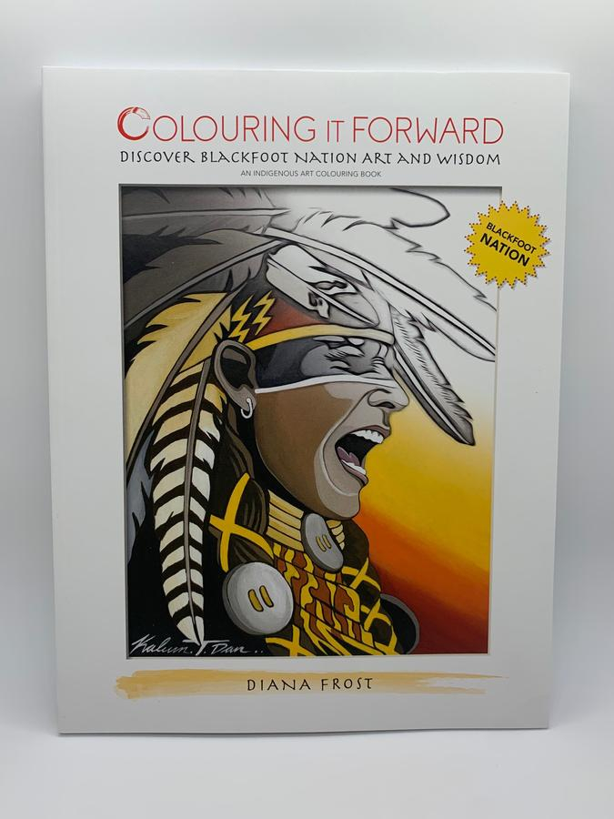 Thumbnail of: Colouring it Forward - Discover Blackfoot Nation Art and Wisdom - Colouring Book