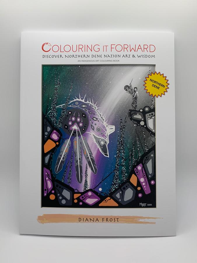 Thumbnail of: Colouring it Forward - Discover Northern Dene Nation Art and Wisdom - Colouring Book