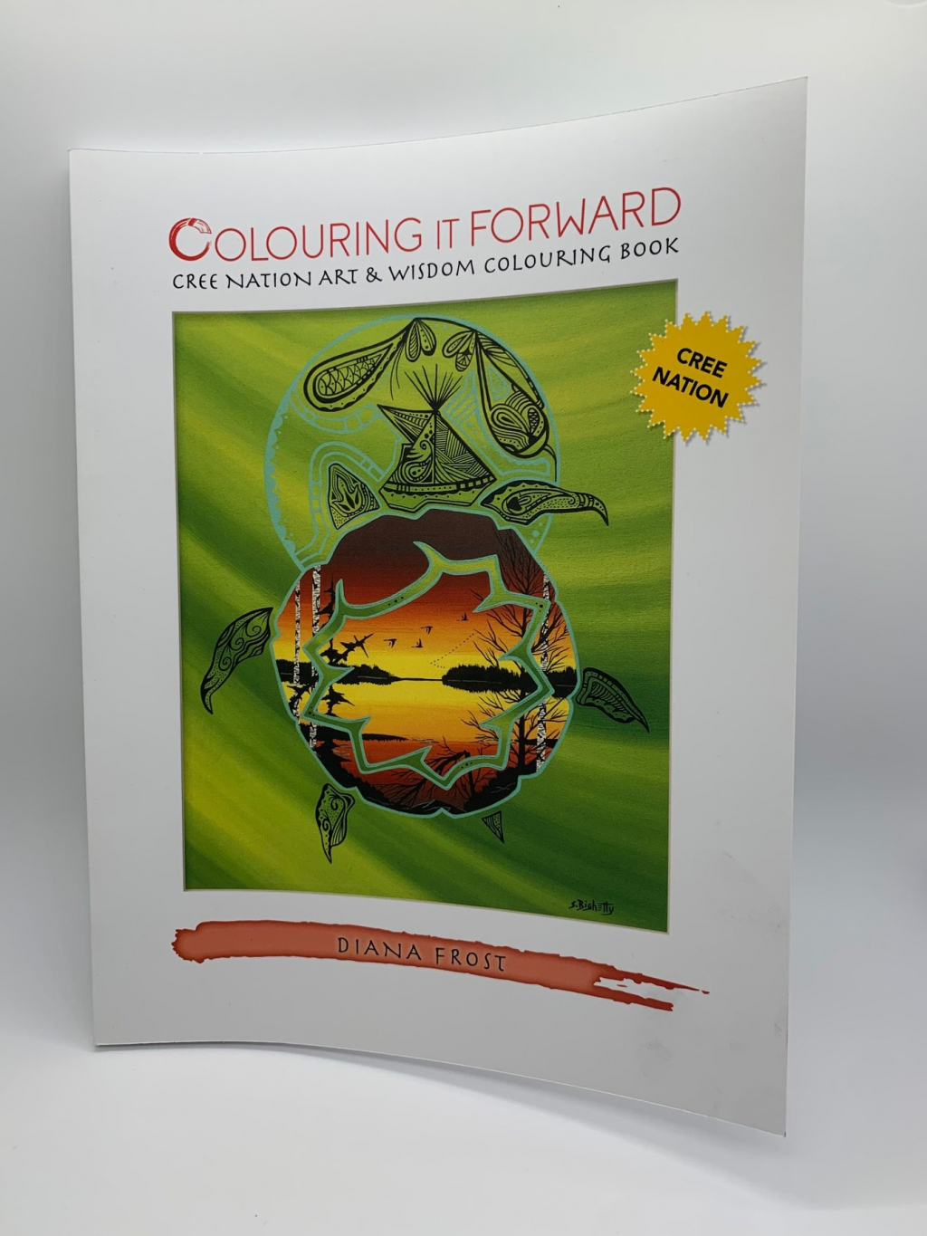 Thumbnail of: Colouring it Froward - Discover Cree Nation Art and Wisdom - Colouring Book