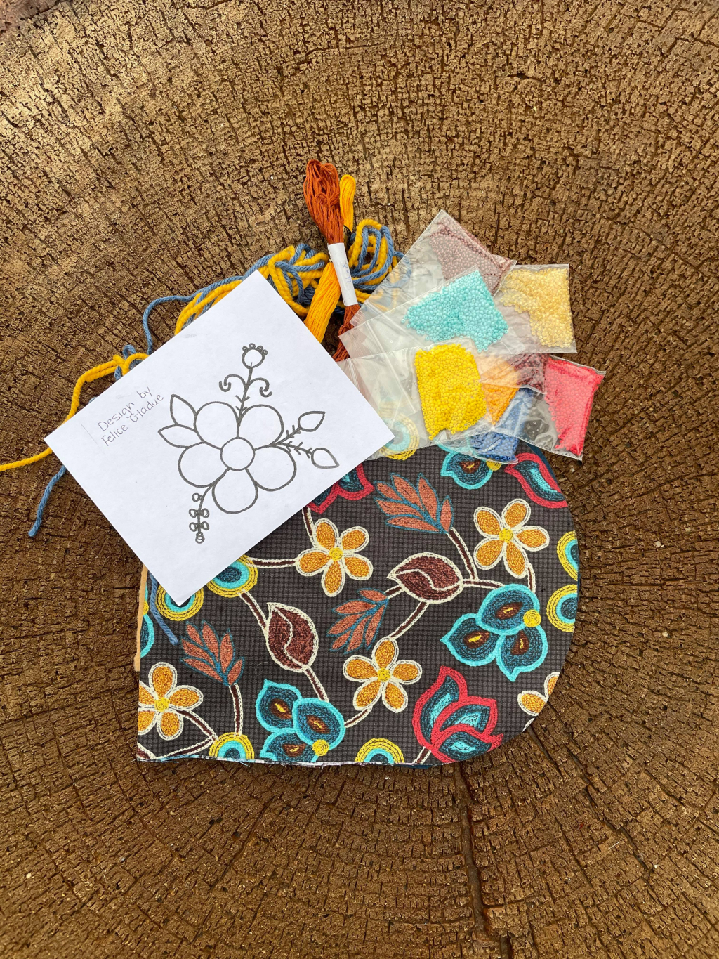 Thumbnail of: MetisALIVE - Beaded Pouch Kit