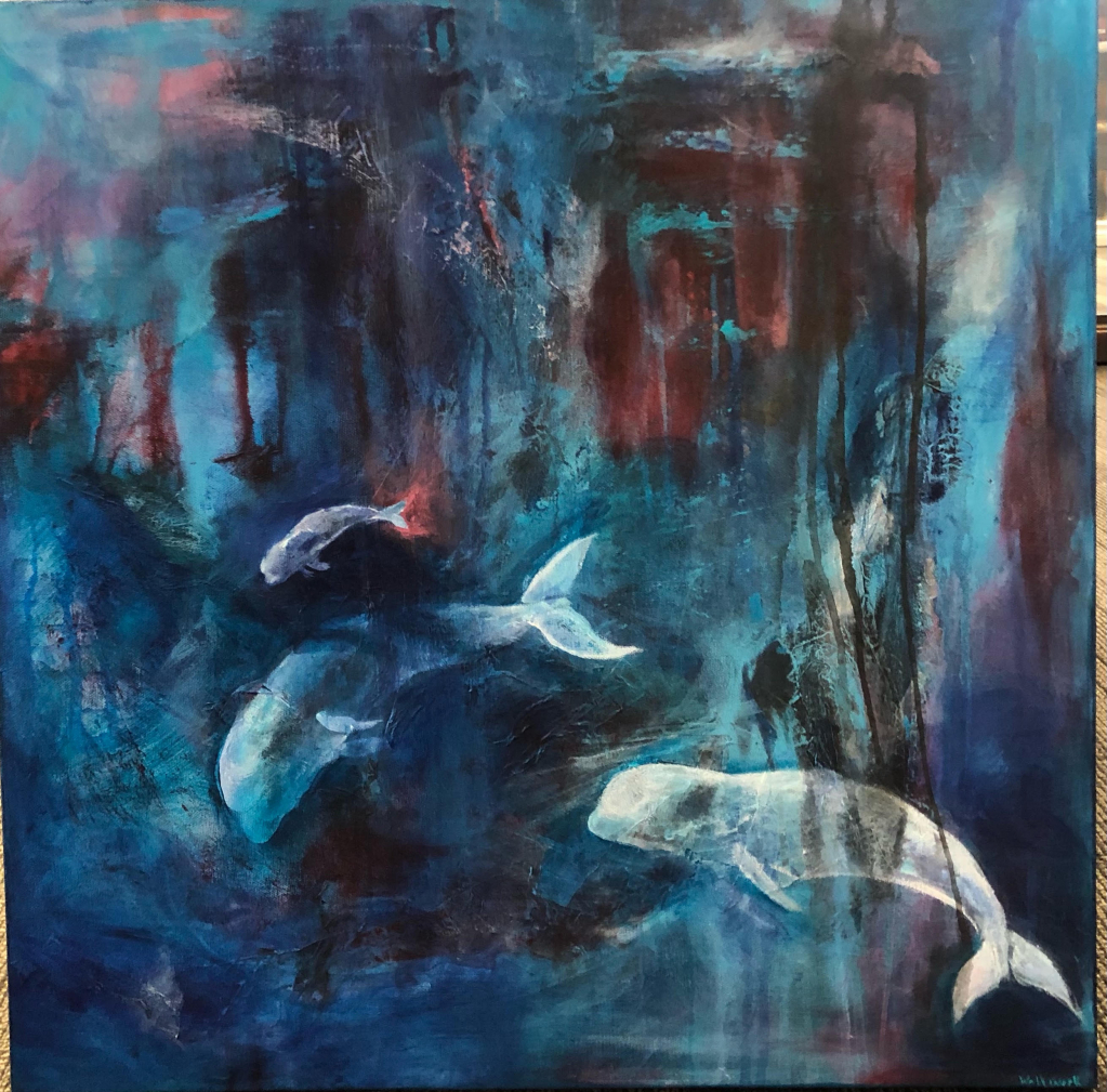 Thumbnail of: Grant Berg Gallery - Painting by Christina Wallwork