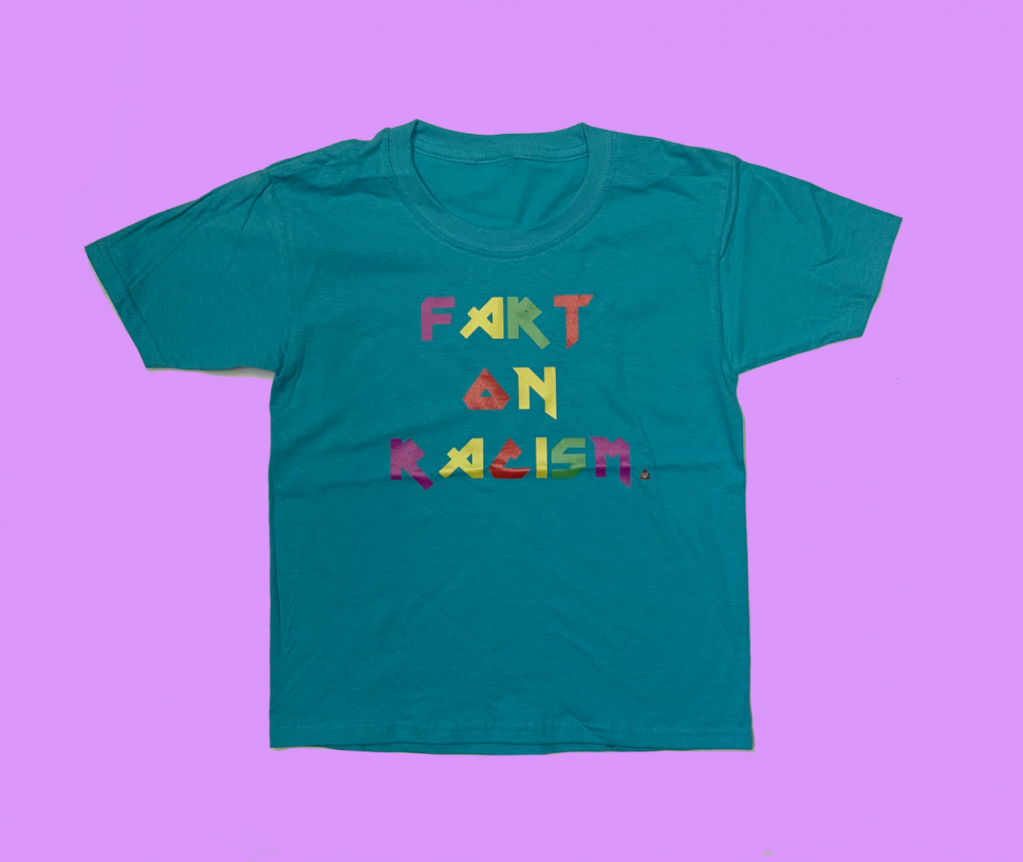 Thumbnail of: MOBILIZE - Fart on Racism Youth T-Shirts