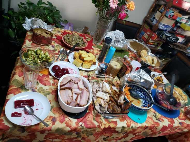Thumbnail of: Fully Catered Turkey Day Meal